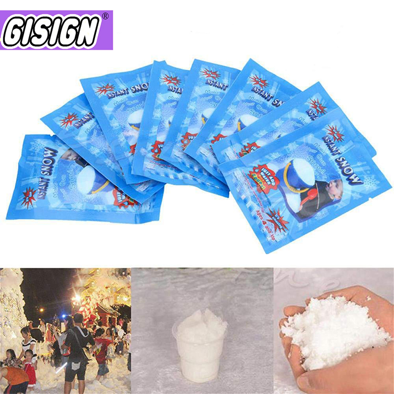 Magic Snow For Slime Addition Modeling Clay Accessories Slime Fluffy Polymer Clay Snow Powder All Charms Filler For Mud Toys(China)