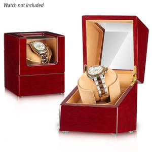 Watches Wooden 4-Rotation Automatic with Quiet Motor-Storage-Box Home Professional Universal