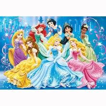 Princess Cartoon 5D DIY Diamond Painting Figure Picture Full Square/Round mosaic Embroidery Cross Stitch Decor