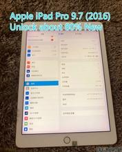 Original refurbish apple ipad pro 9.7 2016 9.7 polegadas, a1673 wifi versão sobre 80% novo desbloqueio