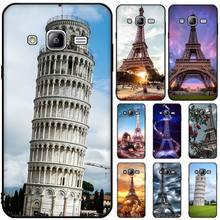 MayDaysmt Tower of Pisa DIY Painted Bling Phone Case For Samsung J6 Prime 7 Plus Peime J7 Neo J8 J6Plus J7 Duo 2018 2019 italian flag style graffiti leaning tower of pisa pattern case for samsung s6812 s6810 green