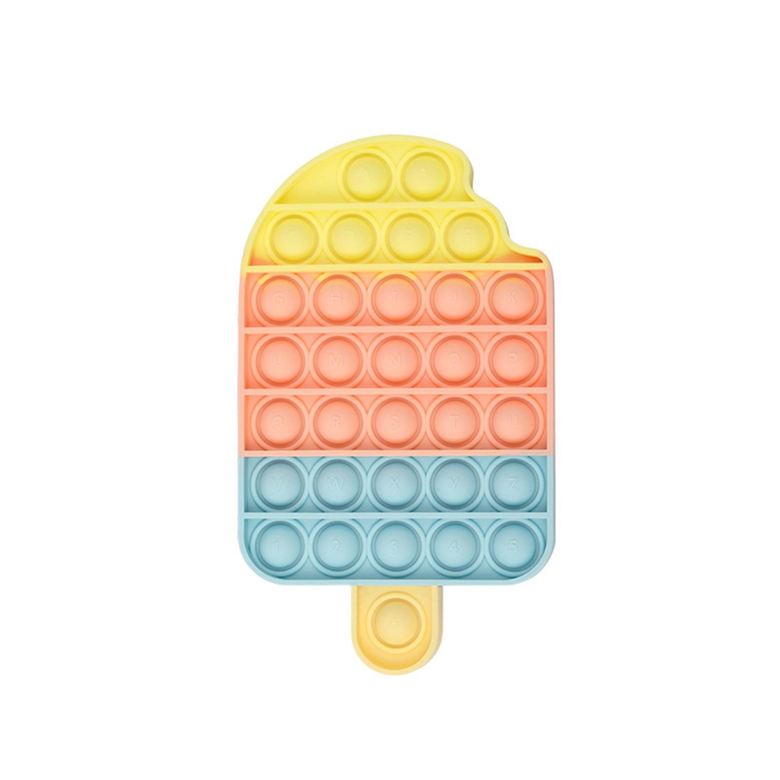 Дешевые сенсорная Непоседа упаковка игрушек выталкивает его для пускания мыльных пузырей сенсорная Непоседа игрушки Антистресс платье дл...
