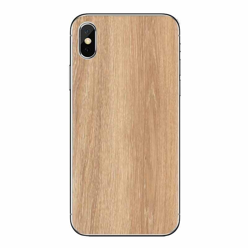 Arte colorido del diseño del grano de madera para Xiaomi mi 4 mi 5 mi 5S mi 6 mi A1 A2 5X6X8 9 Lite SE Pro mi Max mi x 2 3 2S TPU cubierta de la bolsa