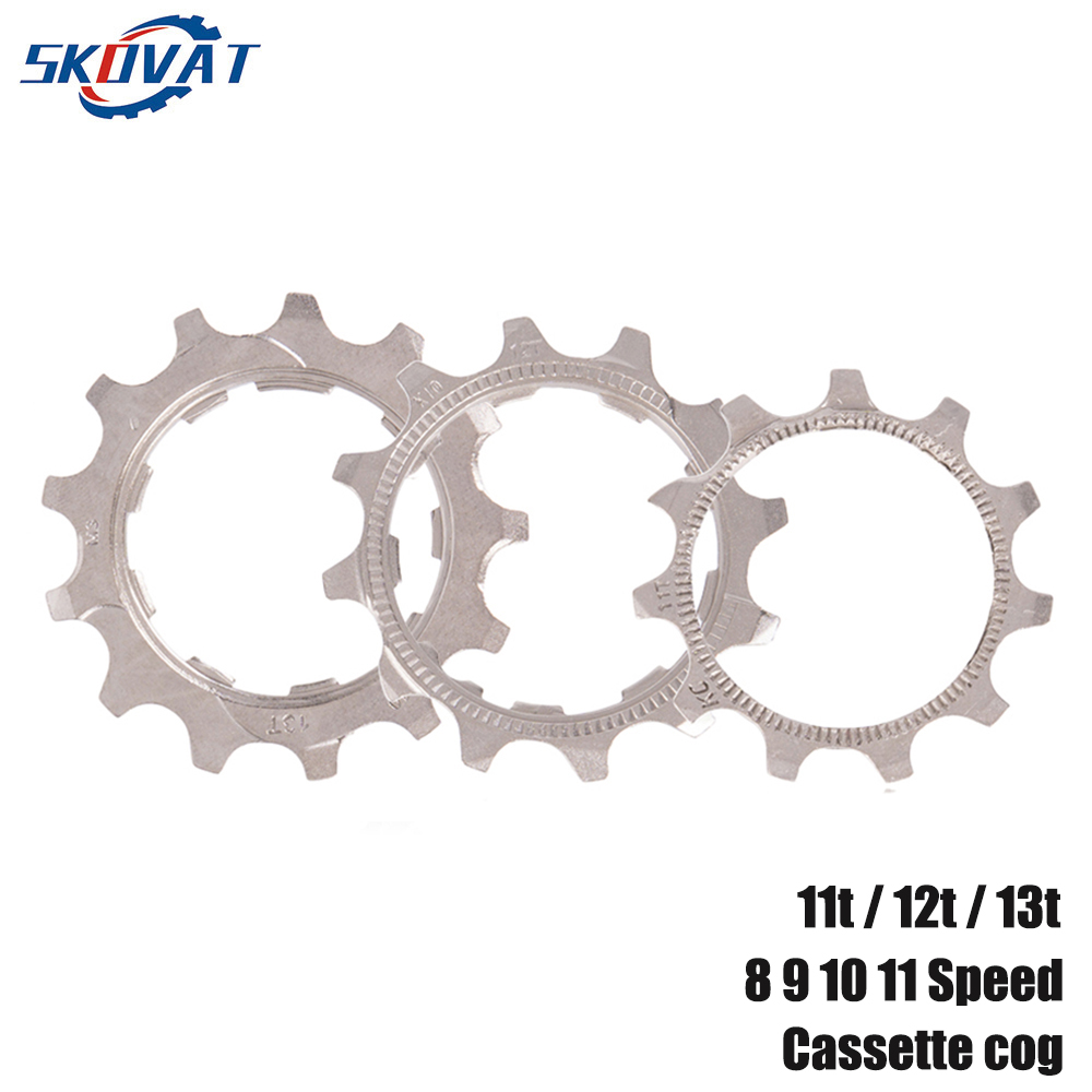 1 PCS SKOVAT 8 9 10 11 Speed MTB Road Bicycle Freewheel Replacement Cog 11t 12t 13t For Shimano SRAM Bike Cassette Sprockets image