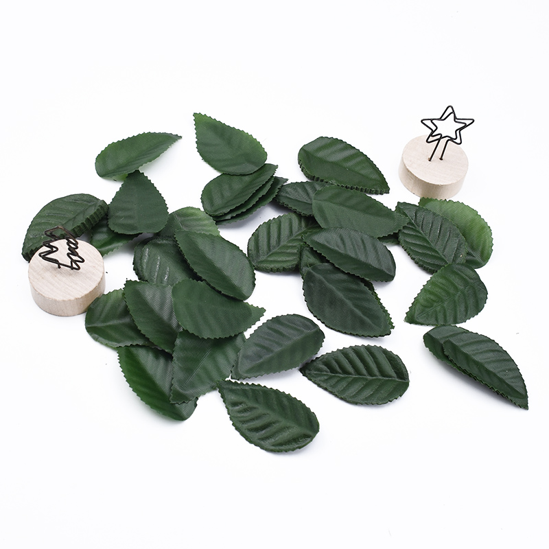 100/200/300 Pieces Scrapbook Flowers Silk Leaf Needlework Diy Gifts Box Wedding Bridal Accessories Clearance Artificial Plants