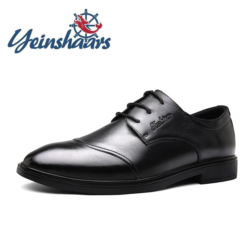Genuine Leather Mens Shoes Fashion Brand Oxford Minimalist Shoes For Men Luxury Shoes Designer Formal Shoes Chaussure Homme Cuir