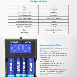 Image 4 - Xtar Batterij Oplader VC8 VC4S QC3.0 Snelle Lader/VC4 VC4S Opladen Voor 1.2V Aaa Aa Batterij/VC2S power Bank / 18650 Lader