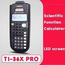 цена на Brand New Original Texas Instruments Ti-36x Pro Multifunctional Student Scientific Calculator Hot Selling clear calculator