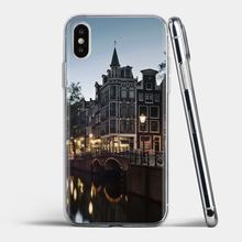 Cartoon Silicone Phone Case Amsterdam Holland For Samsung Galaxy J1 J2 J3 J4 J5 J6 J7 J8 Plus 2018 Prime 2015 2016 2017(China)