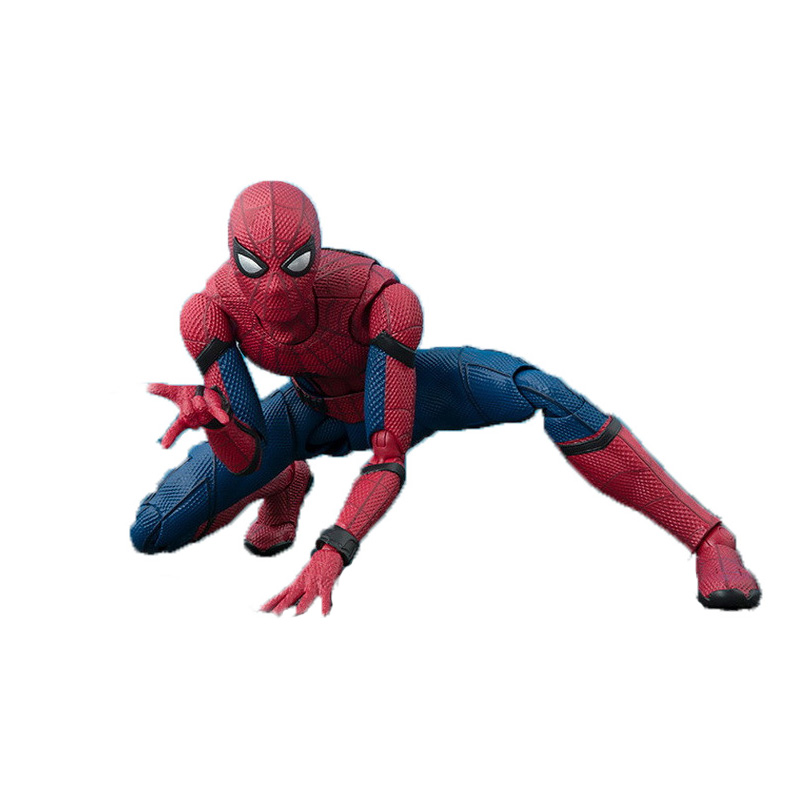 NEW Hot 15cm Avengers Spiderman Super Hero Spider-Man: Homecoming Action Figure Toys Doll Collection Christmas Gift B554
