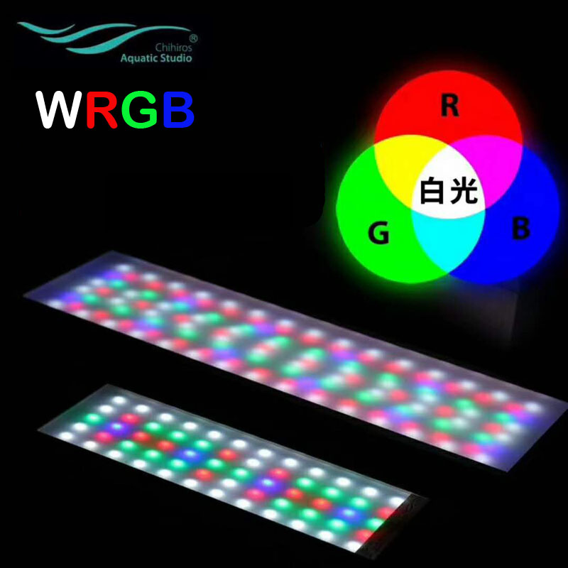 Chihiros WRGB Series LED Lighting For Water Plant Growing Simulated Sunrise Sunset Bluetooth Smart Control Commander 4