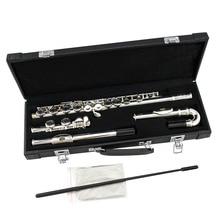 Промежуточный сорт 16 закрытое отверстие посеребренное тело прямая или изогнутая головка шарнирная флейта