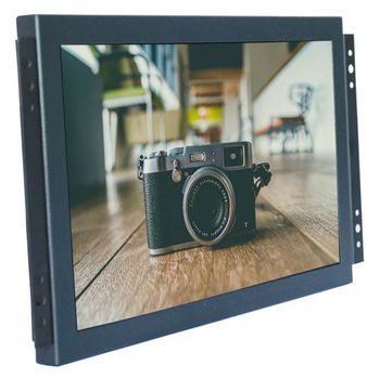 15 inch HD LCD computer display Bnc1 bnc2 bnc3 bnc4 four image segmentation can be connected with four cameras