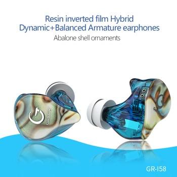 AK GuideRay I58 I68 BA DD hybride 10mm pilote dans loreille écouteur IEM HIFI DJ moniteur en cours dexécution Sport écouteurs écouteurs casque 2Pin