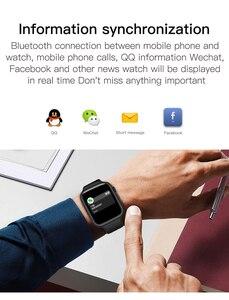 Image 3 - F20 Smart Watch Bluetooth Gọi Theo Dõi Đồng Hồ Đo Nhịp Tim Phát Hiện Nhiệt Độ PK IWO 8 12 F10 W68 W34