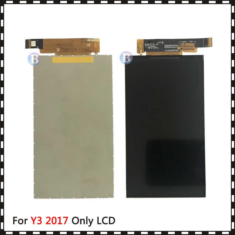 جديد جودة عالية 5.0 ''لهواوي Y3 2017 CRO-L22 CRO-L02 CRO-L03 CRO-L23 CRO-U00 Lcd عرض مع شاشة تعمل باللمس محول الأرقام الاستشعار