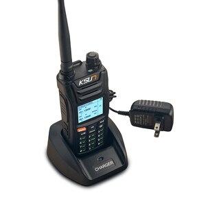 Image 4 - KSUN X UV68D (מקס) מכשיר קשר 8W גבוה כוח כפול כף יד שתי דרך רדיו חם Communicator HF משדר חובב Handy