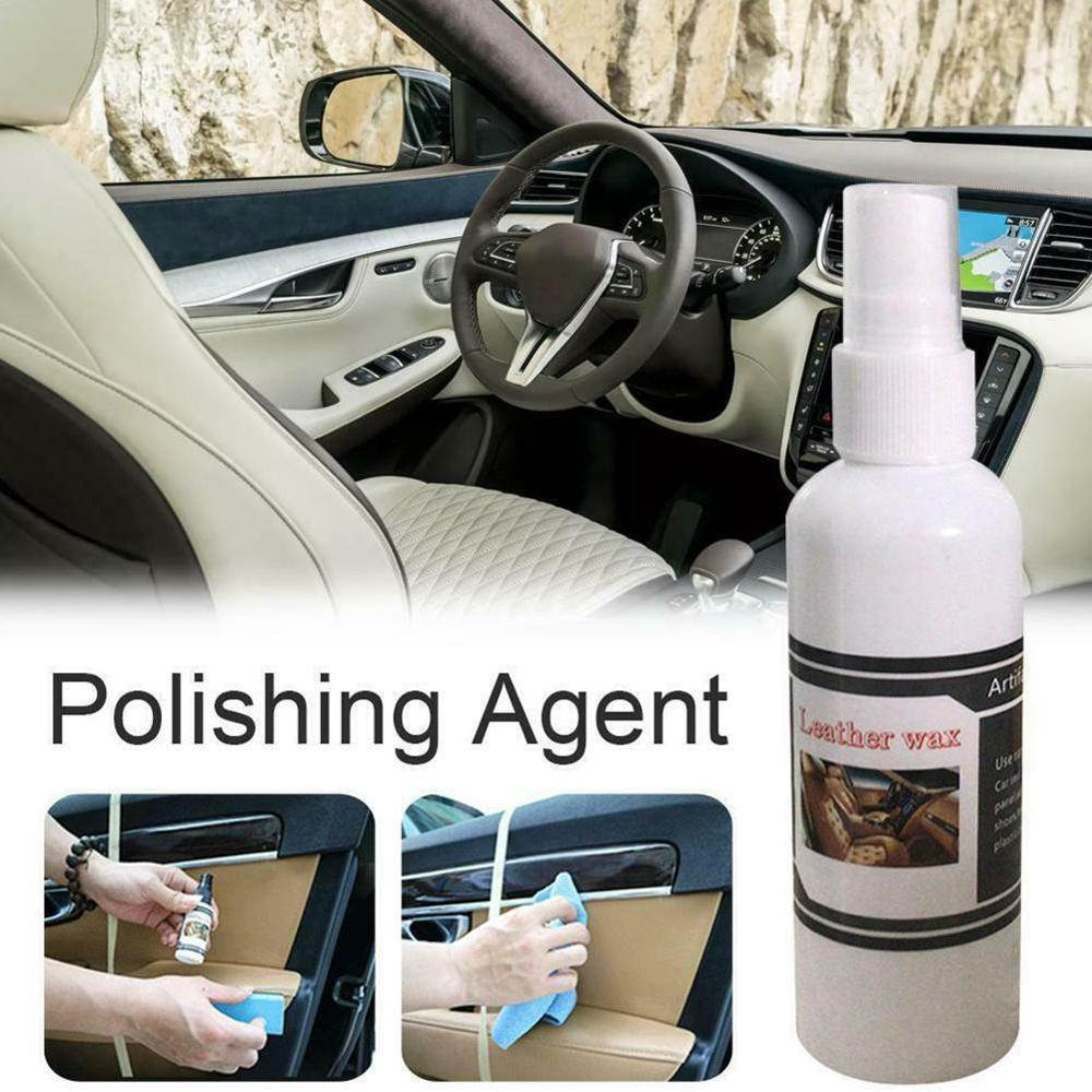 High Quality Universal 30ml Car Leather Emulsion Polishing Leather Coating Maintenance Agent Moisturizing Leather Seat Repair