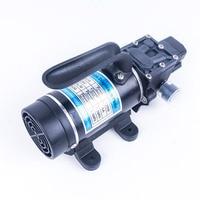 DC 24V 120W 130PSI 10L/Min Portable Electric Water Pump High Pressure Diaphragm Self Priming Pump Pressure Switch Type
