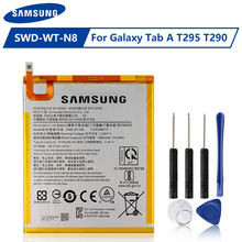 Оригинальная батарея samsung swd wt n8 планшета для galaxy tab