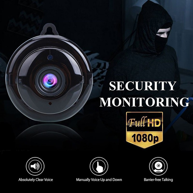 1080P IP Baby Monitor Camera With Night Vision CCTV Cam For Your Child Safety 9