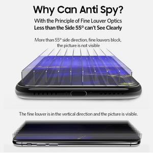 Image 3 - Benks vidrio templado curvo HD antiespía para iPhone, Protector de pantalla de privacidad completo, película frontal doblada, para XS MAX XR, 5,8 6,1 pulgadas