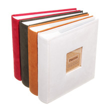 1pcは写真でスリップメモフォトアルバムの家族のメモリノートブック写真アルバム200写真写真アルバムブック4色