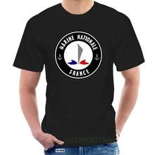 2019 Street Wear Summer Style Cotton Short Sleeve Marine Nationale - Mer Commando Bateau Bretagne Du S Au Cheap Shirt @117867