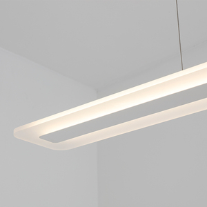 Image 5 - L40 120cm Hiện Đại Treo Đèn Cho Nhà Bếp Dinning Phòng Khách LED Mặt Dây Chuyền Đèn Kim Loại + Acrylic Mặt Dây Chuyền Đèn Treo Đèn LED