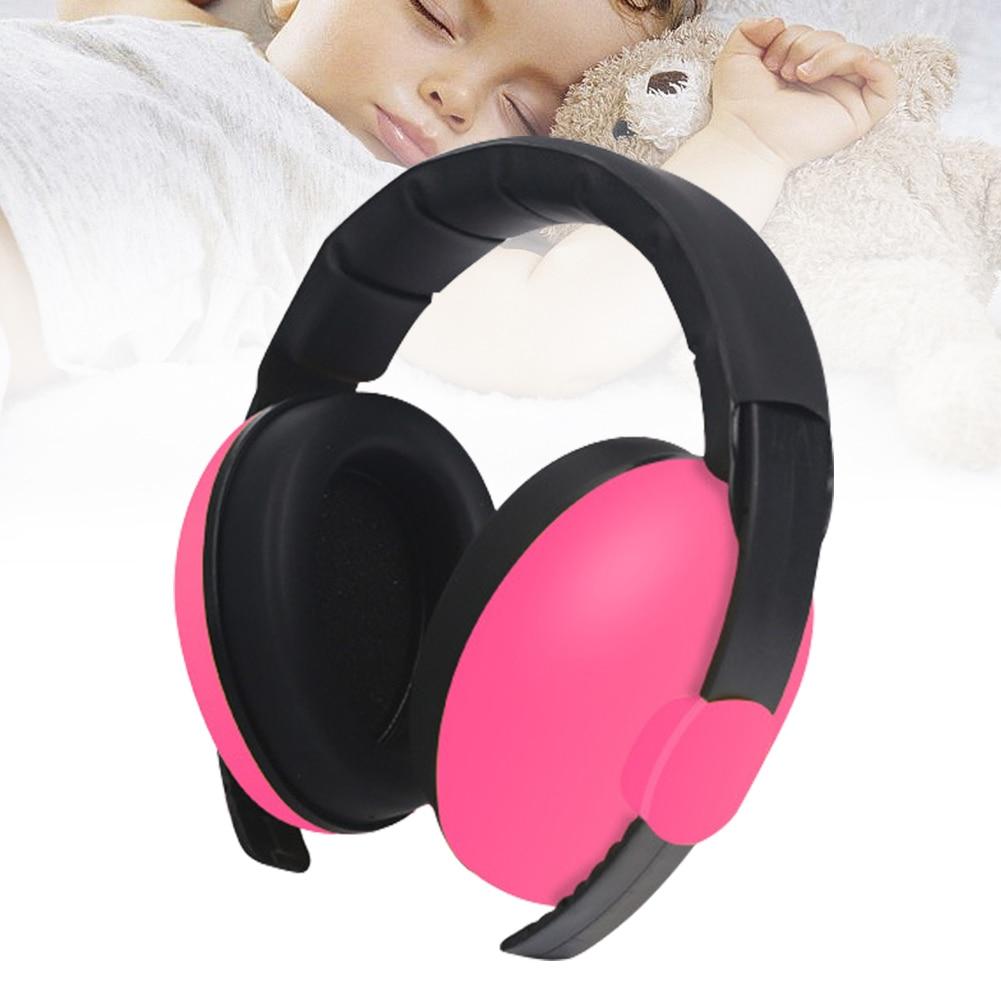 Детские наушники для мальчиков и девочек с шумоподавлением, прочный регулируемый светильник, Защита слуха, защита для сна