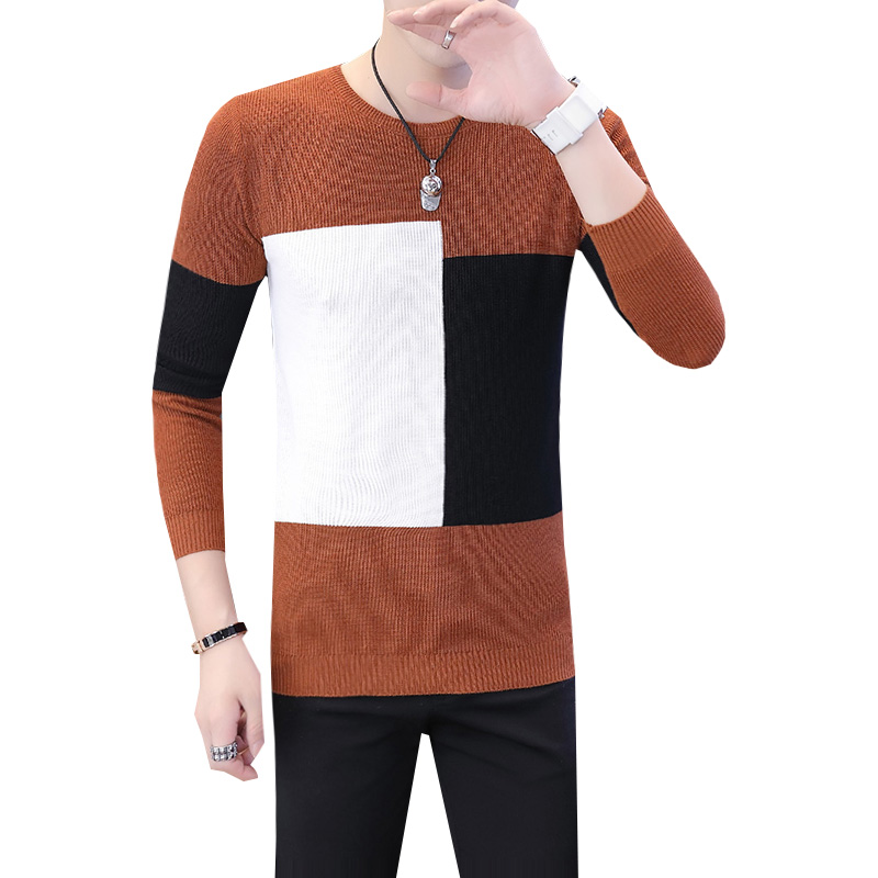 2019 Winter New Arrivals Thick Warm Sweaters O-Neck Wool Sweater Men Brand Clothing Knitted Cashmere Pullover Men m-2xl 2