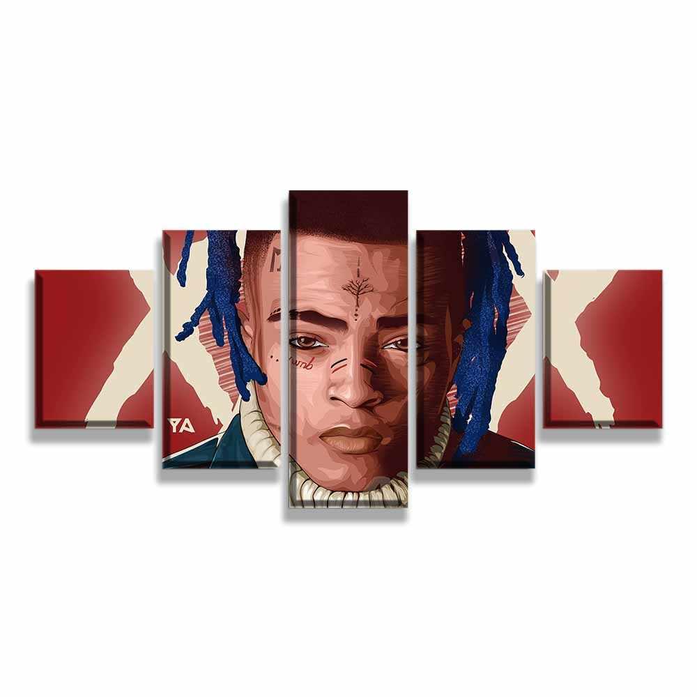 Art Poster New XXXTentacion Hip Hop Music Star Rapper Singer-20x30 24x36In N1339