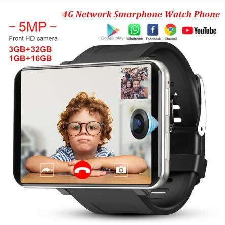 DM100 4G 2.86 Inch Screen Smart Watch Android 7.1 OS Phone 3 GB 32GB 5MP Camera 480*640 Ips Screen 2700mah Battery Smartwatch 1