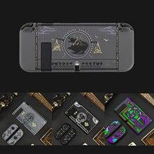 Nintendo Switch用のフロントとリアの保護ケース,マット仕上げ,joyconと互換性があり,コンソール用の保護カバー