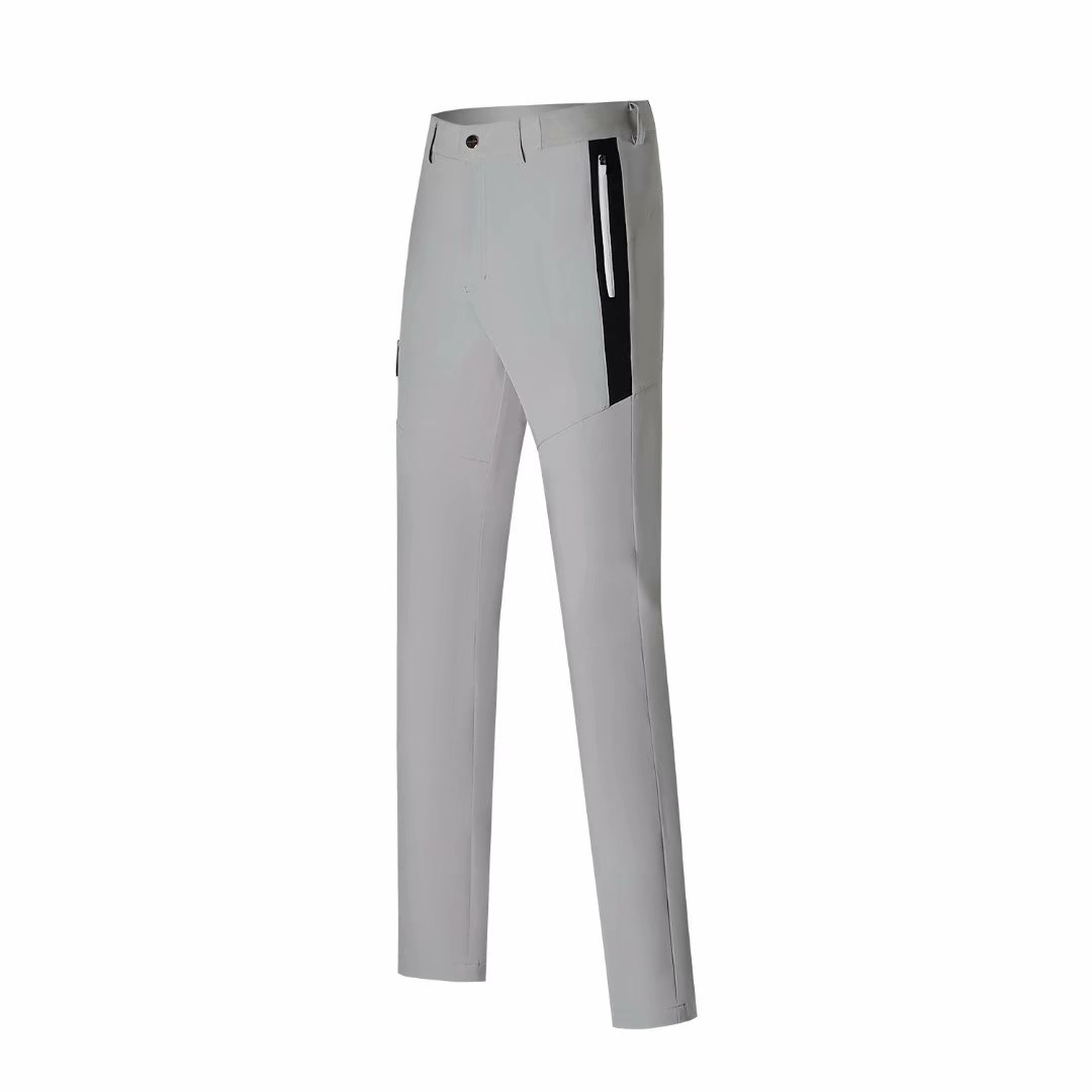 Golf men's golf pants autumn and summer solid color fashion casual golf wear quick-drying breathable golf pants