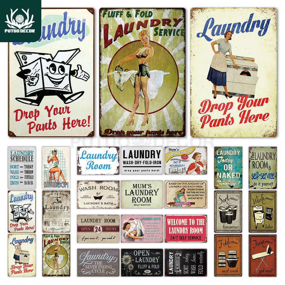 Laundry I Do Each Week tin metal sign MAN CAVE brand new