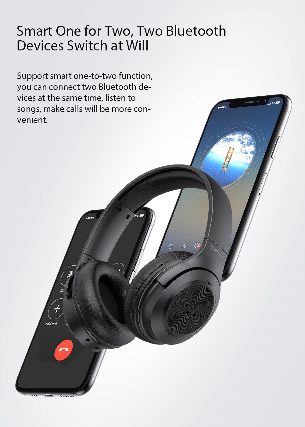 DACOM HF004 Bluetooth Headset Two in One Bluetooth Speaker Deep Bass Stereo  Wired/Wireless Headphone for iPhone Samsung TV|Bluetooth Earphones &  Headphones| - AliExpress
