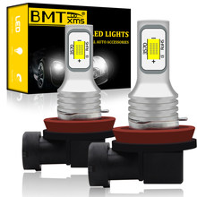 BMTxms – phares antibrouillard led pour Mazda 2 3 bk bi 5 6 gh gj 323 323f bj ba bg 626 gf ge CX5 MX5 CX7 MPV, H8 H11