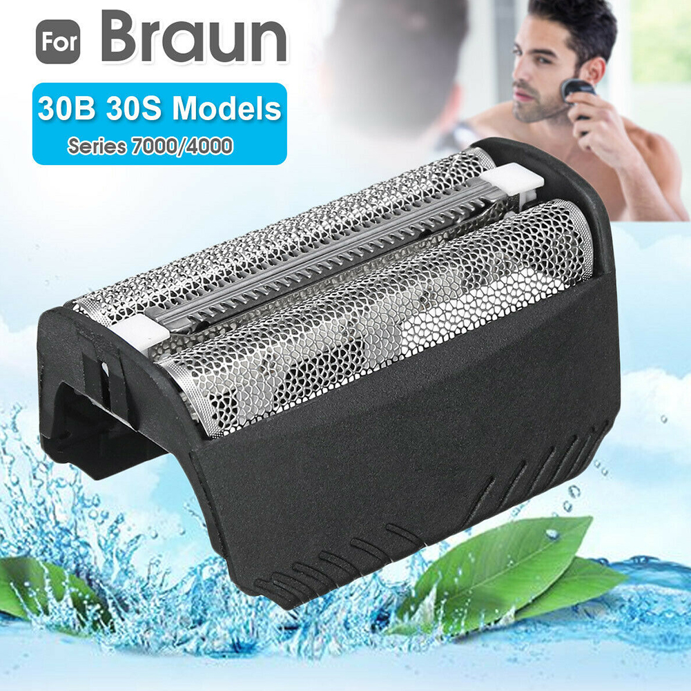 Durable Electric Parts Mesh Net Easy Install Shaving Grille Replacement Shaver Foil Beard Razor Head Film For Braun 30B 30S