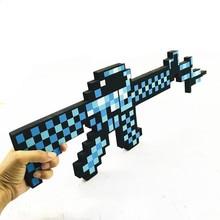 Hot 45-60cm Design Blue Diamond Sword Soft EVA Foam Toy Sword Boys Lovely Toys for Children Birthday Gift