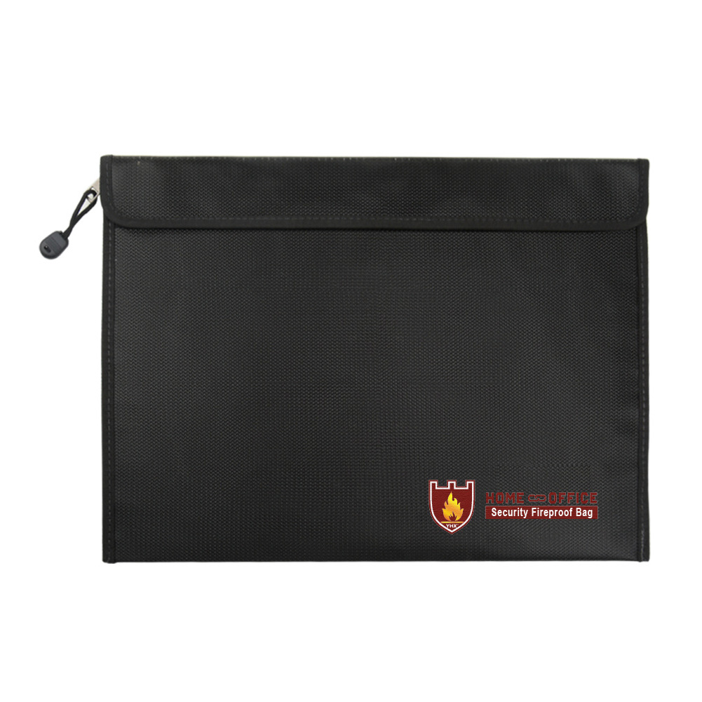 Fireproof Document Bag Waterproof Fire Resistant Pouch For Files Money Documents SP99