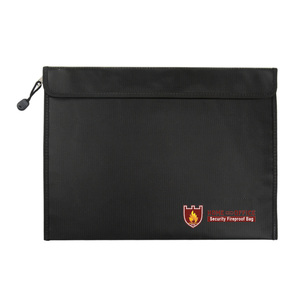 Image 1 - Fireproof Document Bag Waterproof Fire Resistant Pouch for Files Money Documents SP99