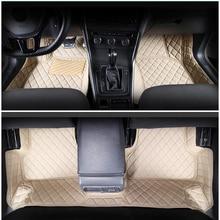 цена на lsrtw2017 leather car floor mats for volkswagen vw golf mk7 mk6 MK 6 7 2010 2011 2012 2013 2014 2015 2016 2017 2018 2019 carpet