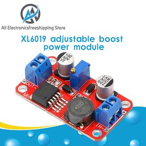 5A DC-DC Step Up Power Module Boost Volt Converter 3.3V-35V To 5V 6V 9V 12V 24V XL6019