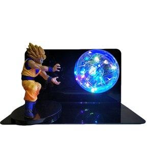 Image 5 - Dragon Ball и Super Goku Вегета Gogeta Figuras светодиодный светильник Dragon Ball лампы Ультра инстинкт Гоку Спальня декоративный ночной Светильник подарки
