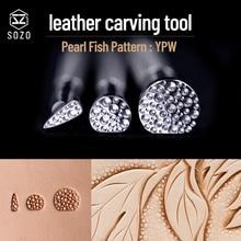 Work-Carving-Tool Embossing-Stamps Handmade SOZO Stamping-Print 304-Stainless-Steel DIY