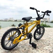 Мини-Пальчиковые игрушечные велосипеды, креативный горный велосипед из сплава, Детский Взрослый BMX Fixie велосипед, скутер для пальца, игрушка в подарок, 11*8 см