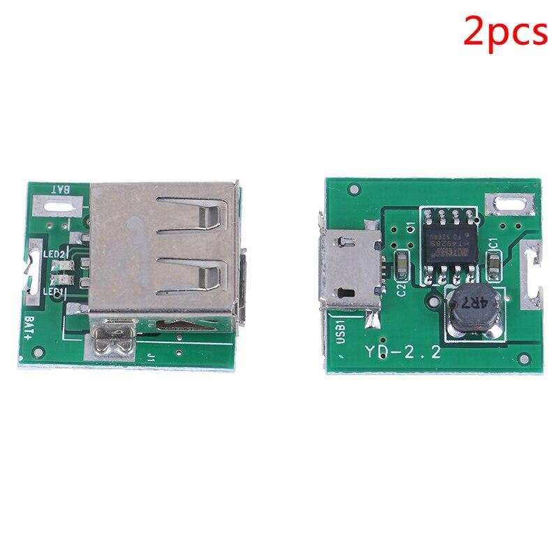 Micro USB 5V akumulator litowo-jonowy 18650 moduł ładowarki do akumulatorów pokładzie DIY Power Bank płytka drukowana moduł 2 sztuk
