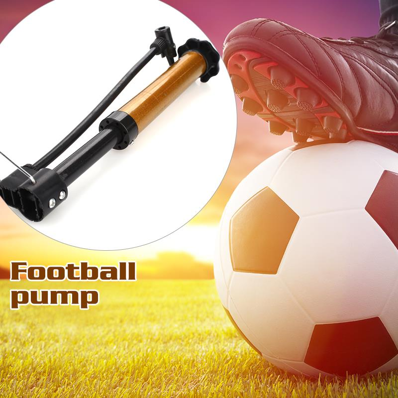 Durable Mountain Bike Travel Tyre Pump Bike Pump Tool Cycling Accessories Balloon Gold Steel Pipe Inflator Bicycle Inflating