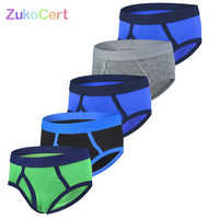 5 Pcs/lot Boys Underwear Boxer Kid Briefs For Children Shorts Panties Teenager Pants Clothes For 2-9Years Old